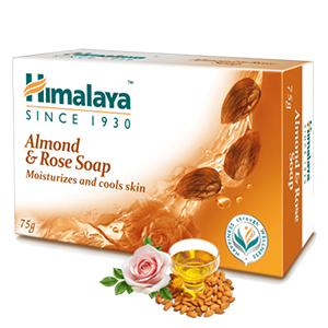 HIMALAYA  ALMOND & ROSE SOAP