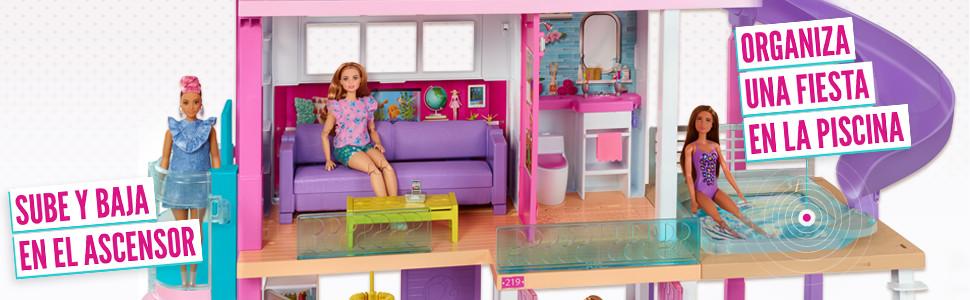 Barbie La casa de tus sueños, casa de muñecas