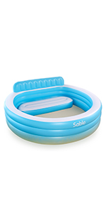 Amazon.com: Piscina hinchable Sable, piscina hinchable ...