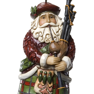 Jim Shore Heartwood Creek Santas Around the World Hand-Crafted and Hand-Painted