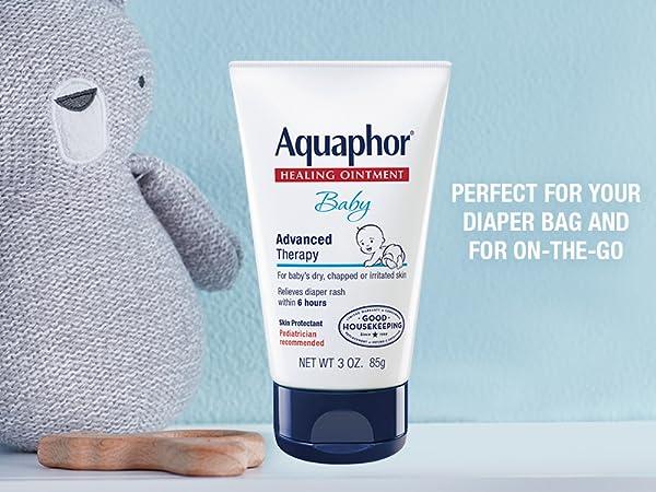 aquaphor healing ointment, diaper bag size