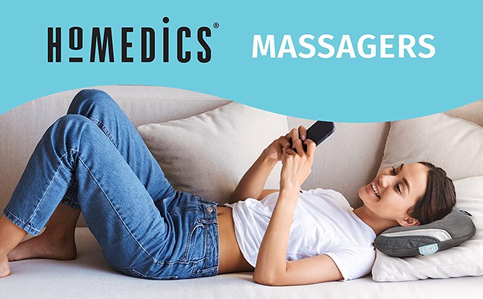 massage massagers homedics
