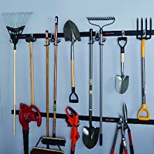 rubbermaid fasttrack garage organization accessories