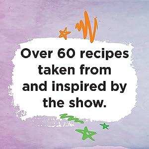 Over 60 recipes