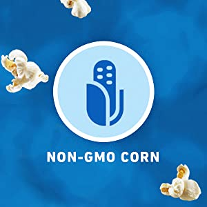 Made with Non-GMO corn, POP SECRET premium popcorn is an easy snack choice to make.