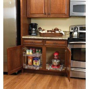 cabinet organizers for every space - Kitchen Cabinet Organizers