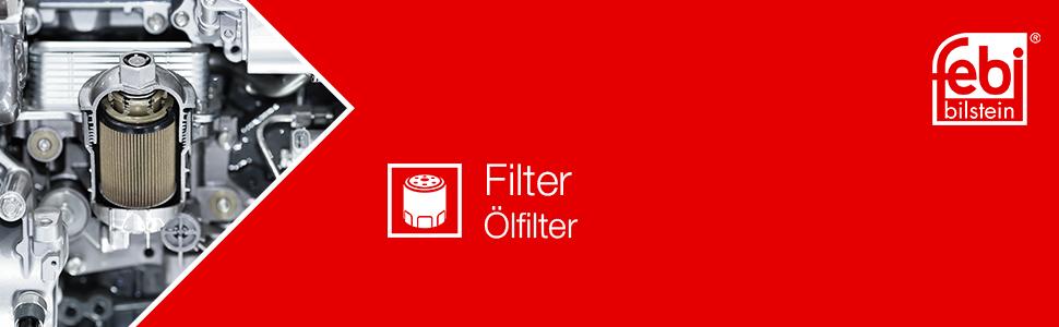 Febi Bilstein 26684 Ölfilter Mit Dichtringen 1 Stück Auto