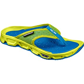 RX Break, Zapatos de Playa y Piscina para Hombre, Azul (Pearl Blue/Safety Yellow/Bluebird 000), 40 2/3 EU Salomon