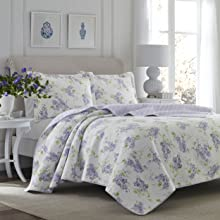 lilac bedding;purple bedding;purple quilt;queen purple;king purple;twin purple;quilt set