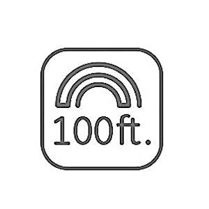 100 feet signal