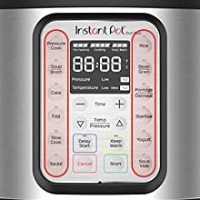 instant pot duo plus fascia with smart programs
