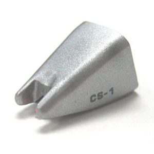 Numark CS-1RS - Aguja de Repuesto Premium para la Cápsula de Plato Giradiscos de DJ Ultrarrobusta CS-1 de Numark