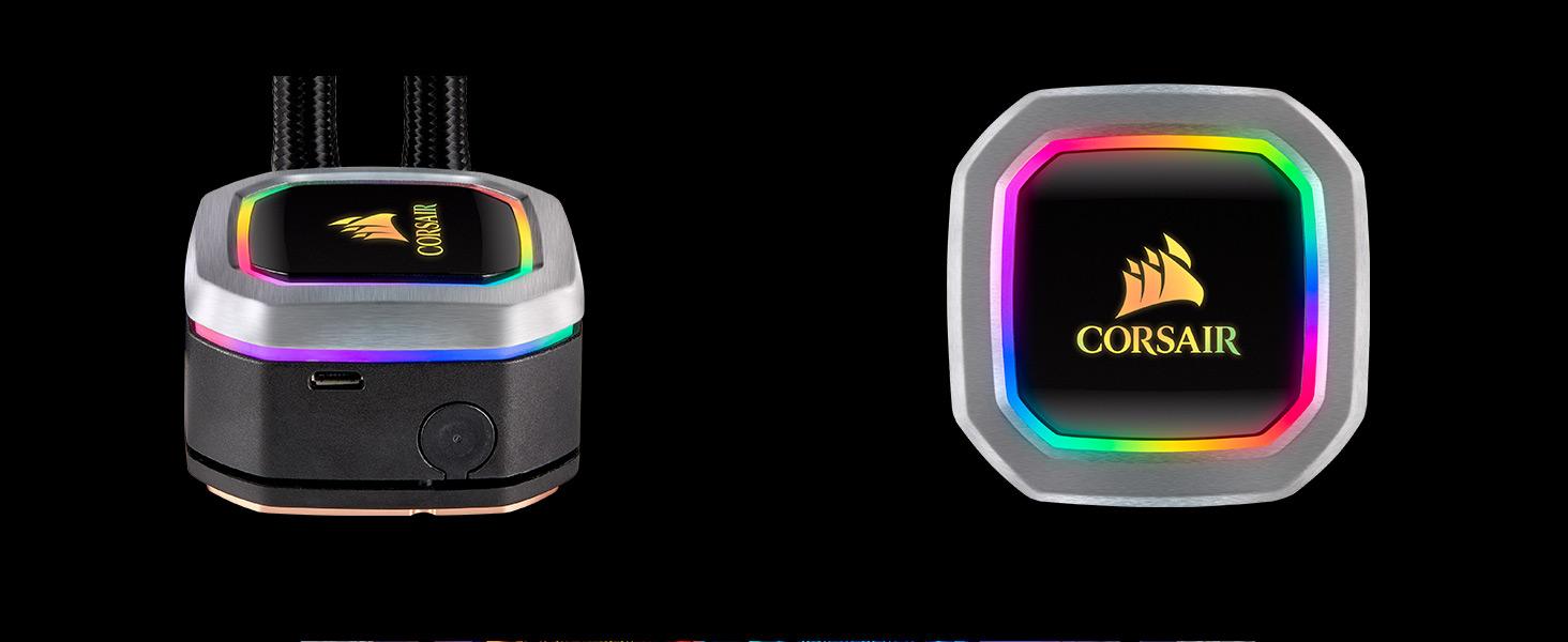 CW-9060039-WW Hydro Series H100i RGB PLATINUM 240mm Liquid CPU Cooler