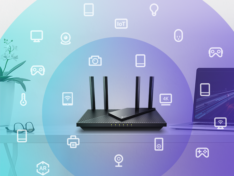 Connect up to 4X More Devices Without Losing Speed
