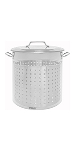 Stock Pot with Basket