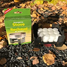 emergency, stove, camp, storm, hurricane, snow, coghlan's, outdoor, winter, survival, tablet, cold