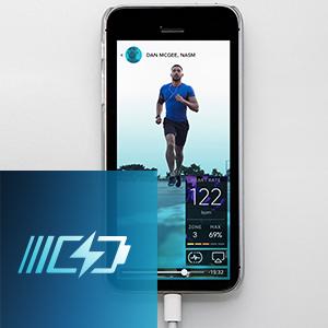Rapid USB Charging Port on Smart Treadmill. Horizon Fitness Treadmill.