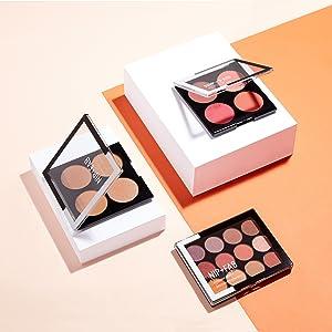 nip fab cosmetica make-up palet hoogtepunt blush contour foundation concealer