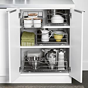 Fresh organized Living Medium Cabinet Shelf White