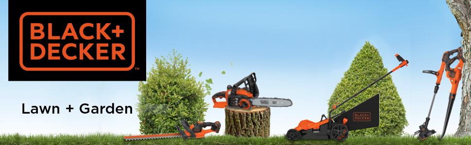 black + decker outdoor power tools