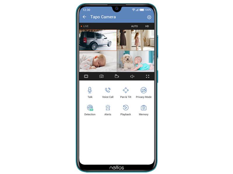 Security camera; baby monitor