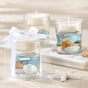 Seashell Gel Tea Light Holder