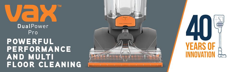 Vax W85-PP-T Dual Power Pro Upright Carpet Washer Cleaner RRP £399.99