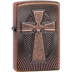 religious, spiritual, zippo lighter, zippo, windproof, black ice, cross, rosary, spiritual lighter
