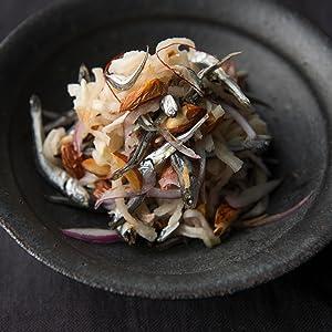 10分〜ひと晩なじませる 漬けるおつまみ 田作りと切り干しとナッツの南蛮漬け