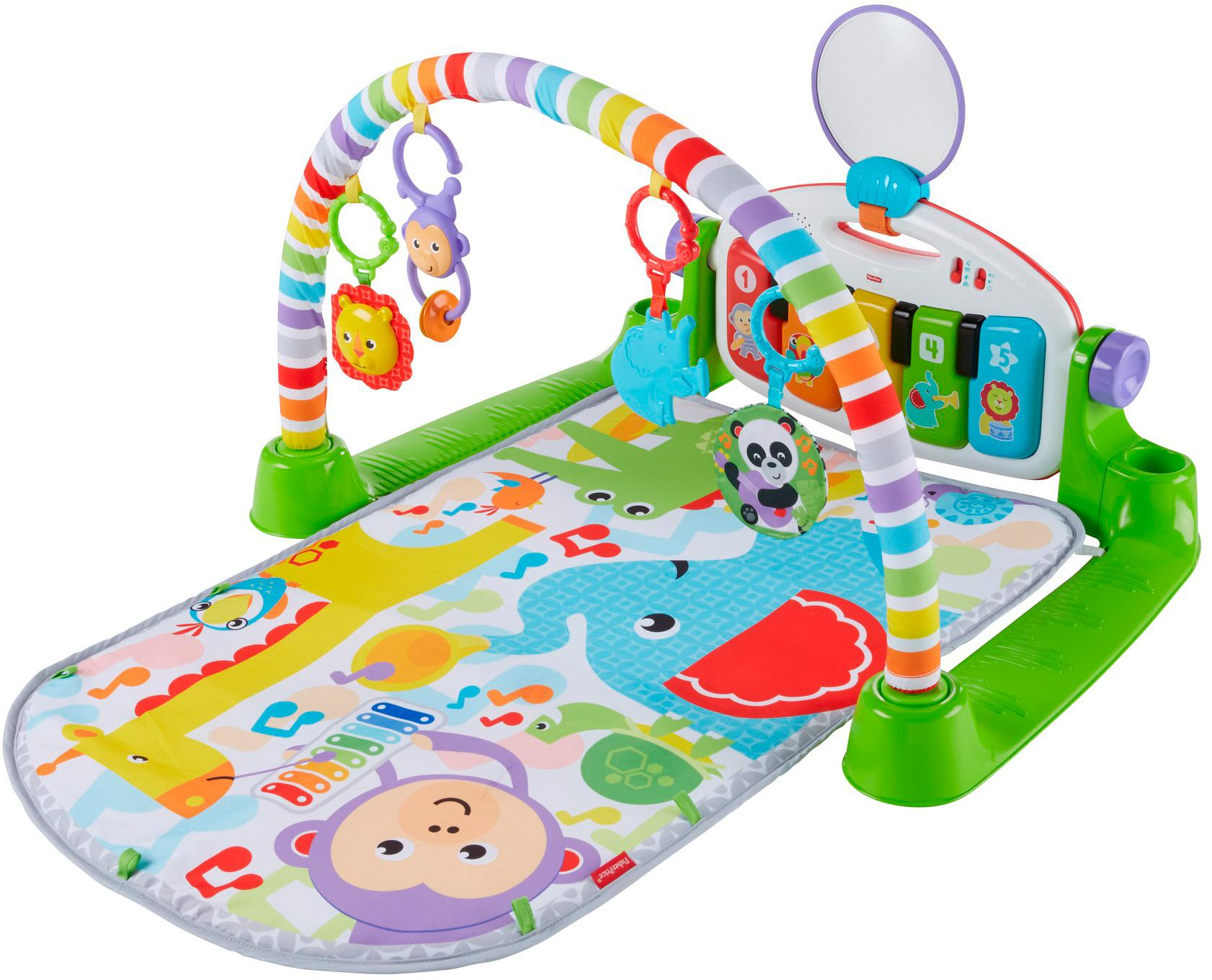 fisher price baby gym kick and play
