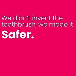 baby toothbrush, safer toothbrush