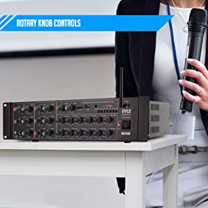 rack mount;audeo mixer;mini ipad tablet used;home stereo system digital;mount wireless speakers;
