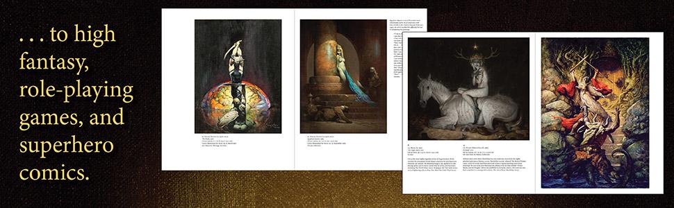 enchanted, fantasy art, high fantasy, comics, superhero, dungeons and dragons