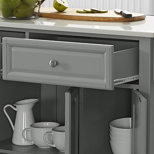 Lafayette  Kitchen Island drawer detail