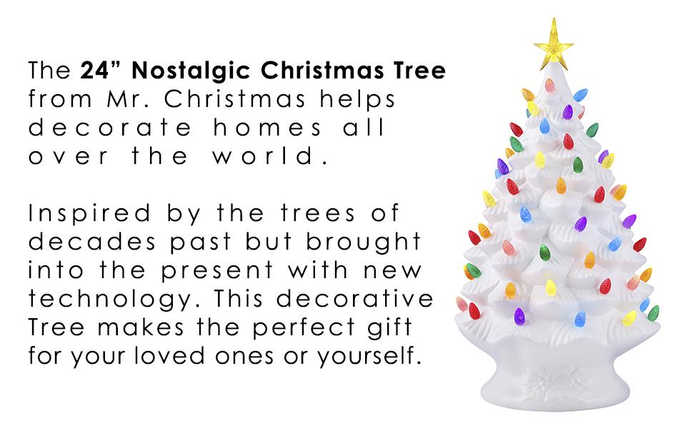 "24"" Nostalgic Tree"