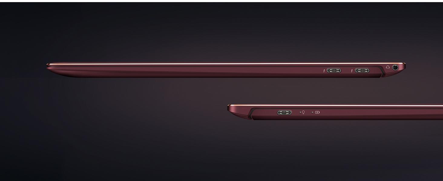 ZenBook S Burgundy UX391connectivity USB C