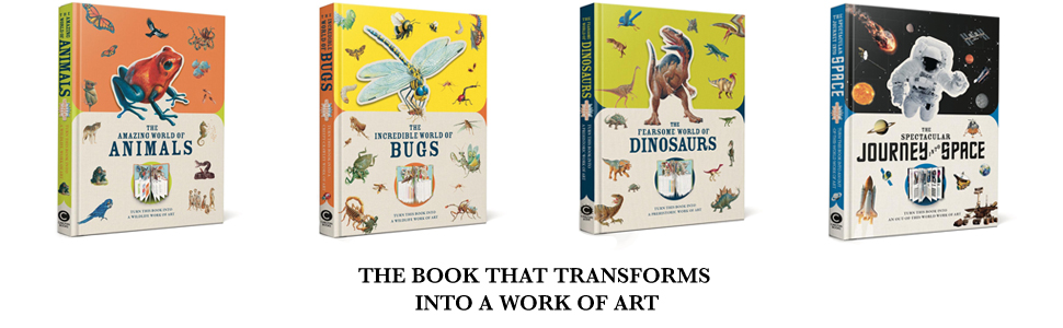 paperscapes book that transforms into a work of art