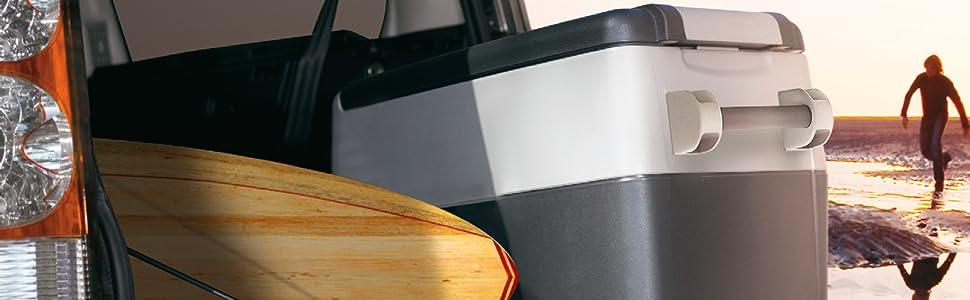 Amazon.es: Indel B TB51A Nevera Portátil 47L 55W DC 12-24 AC 115 ...