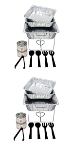 Buffet chafing kit