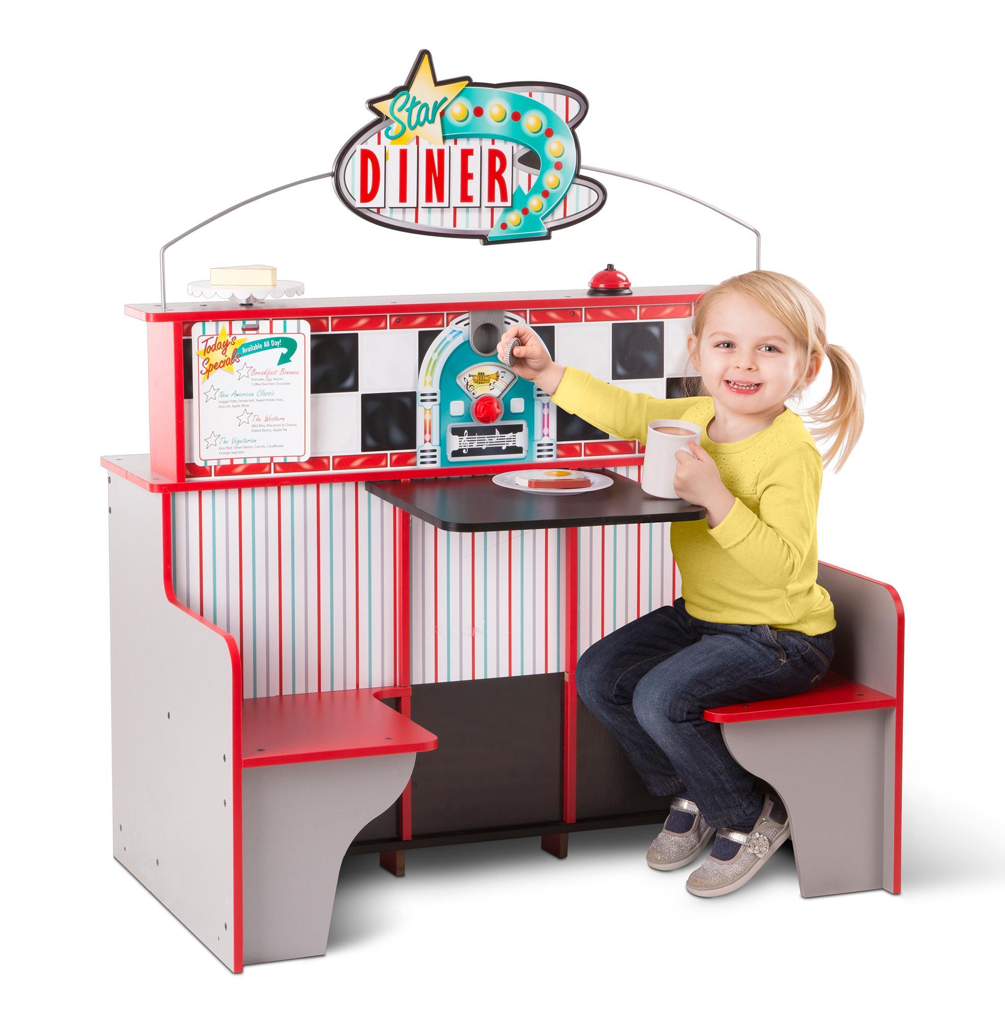 Toys For Restaurants : Amazon melissa doug star diner restaurant toys games