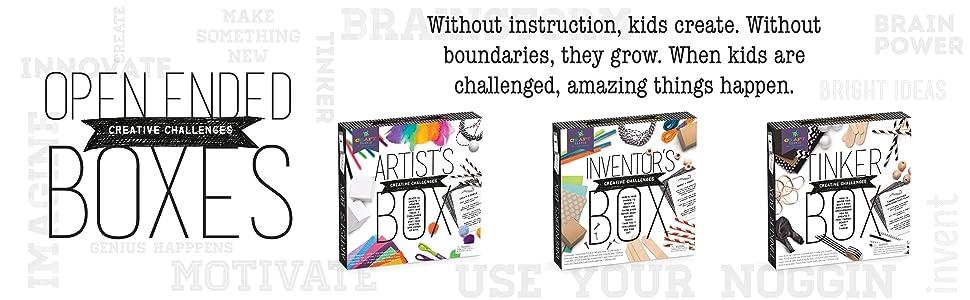 More craft-tastic challenge craft kits for kids