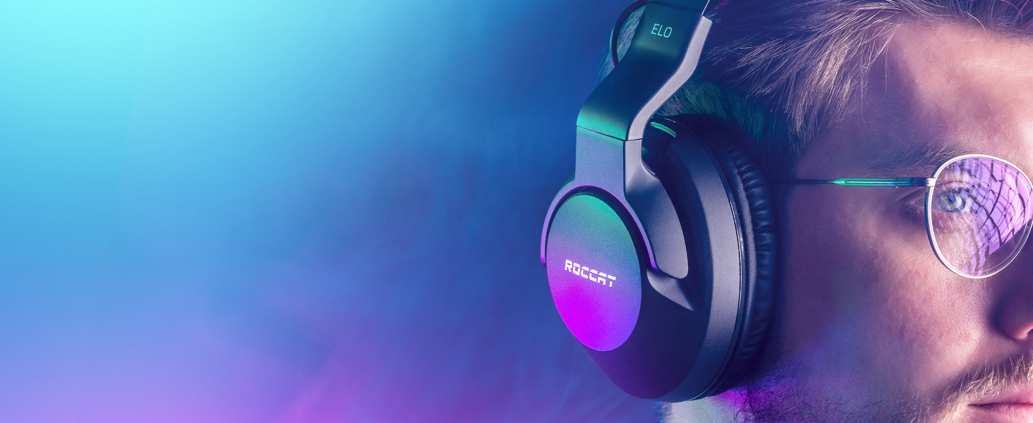 Roccat Elo 7 1 Air Kabelloses Surround Sound Rgb Pc Gaming Headset Games