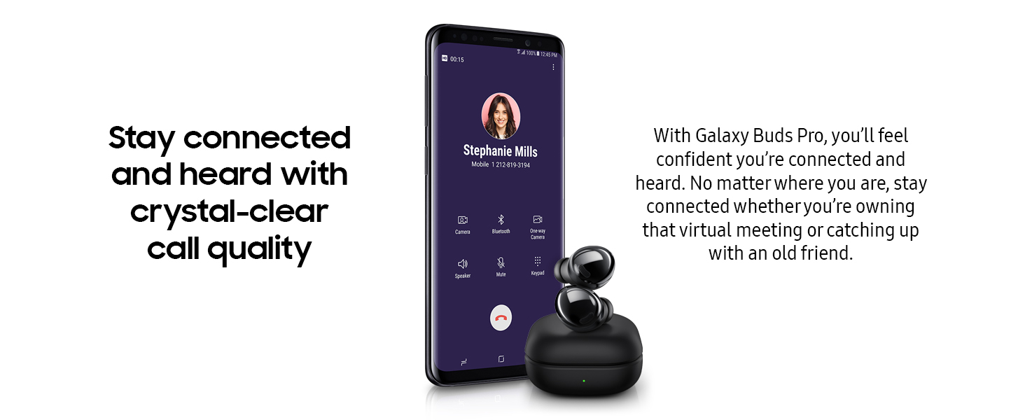 Samsung Galaxy Buds Pro, wireless headphones, wireless earbuds, call quality