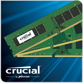 Crucial Desktop Memory