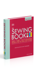 Embroidery stitching and sewing book to learn