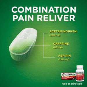 Amazon Com Excedrin Migraine Geltabs For Migraine Pain Relief 80