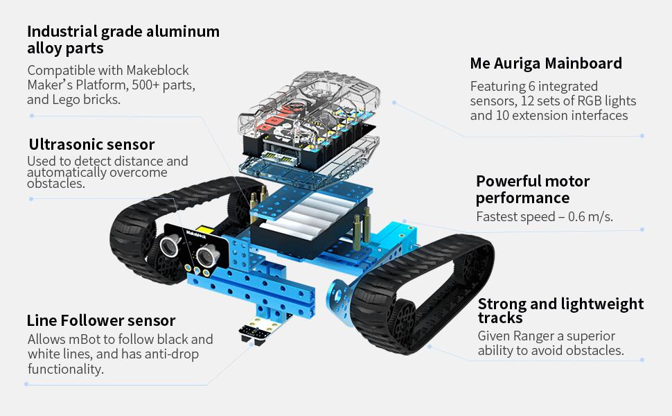 robot toy for kids stem learning coding kit