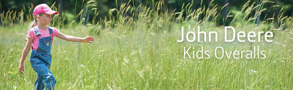 John Deere Kids Overalls, Bibs