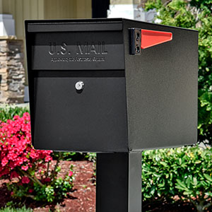 Mail Boss Locking Security Mailbox