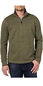 Authentics Long Sleeve Fleece Quarter Zip